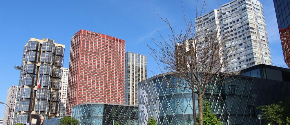 The Centre Commercial Beaugrenelle for Shopping in Paris